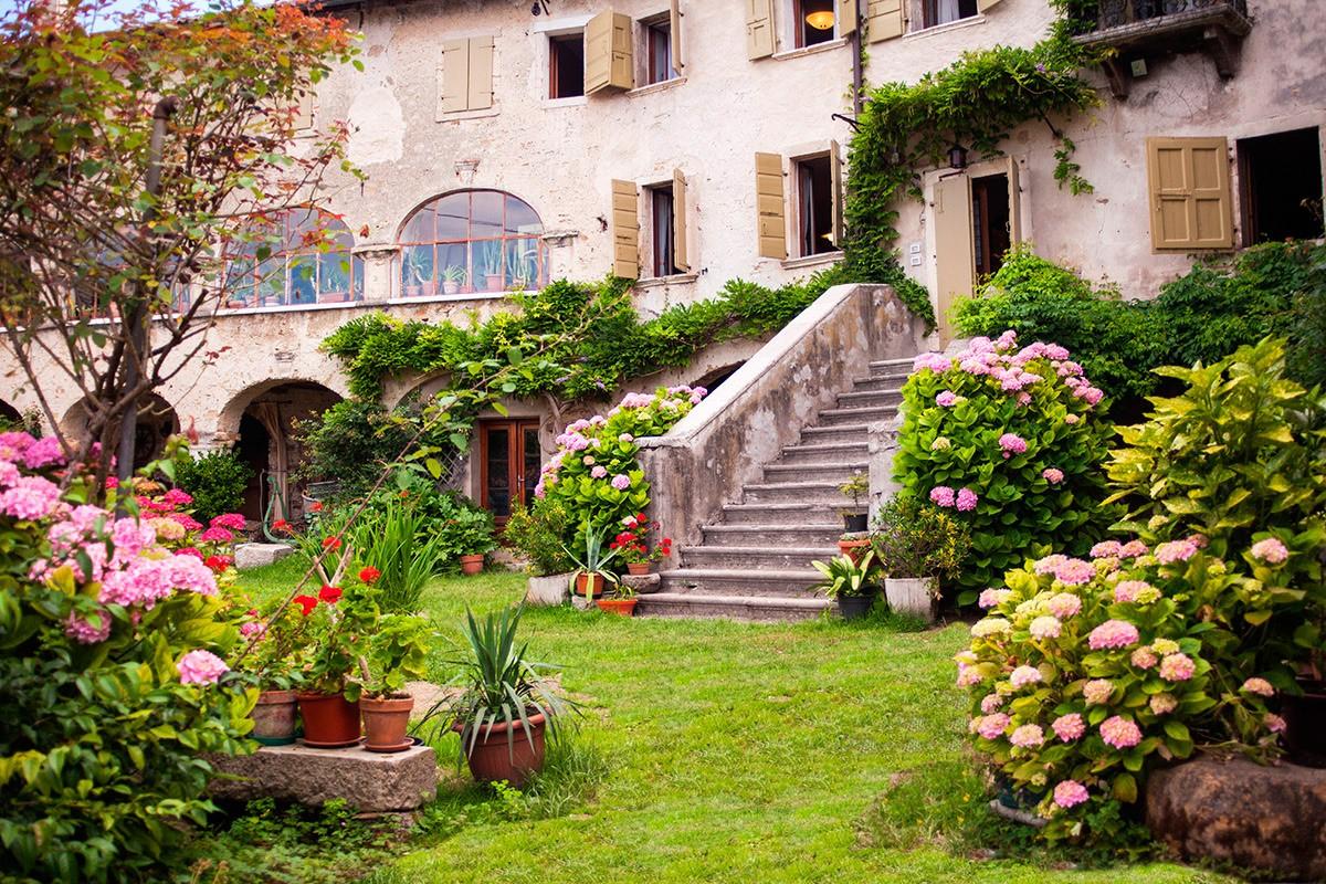 Villa francescon mel palazzo storico dimora storica belluno for Piani di villa italiana