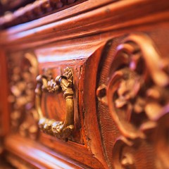 Palace furniture detail